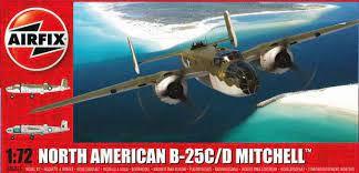 AirFix - North American B-25C/D Mitchell - 1/72