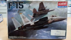 Academy - F-15 - 1/144 (Sucata sem Decal)