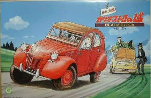 Gunze - Clarise & Citroën 2CV (Animação Lupin III) - 1/24
