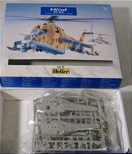 Heller - MiL Mi-24 Hind - 1/72 (Sucata)