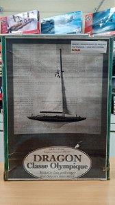 Heller - Dragon Classe Olympique (Madeira) - 1/30 (Sucata)