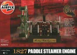 AirFix - 1827 Paddle Steamer Engine (Sucata)