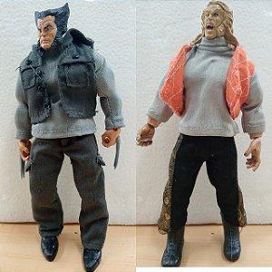 Bonecos Artesanais - Wolverine & Sabretooth