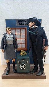 Bonecos Artesanais - Bonnie & Clyde