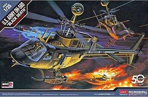 "Academy - U.S. Army OH-58D Kiowa ""Black Death"" - 1/35"