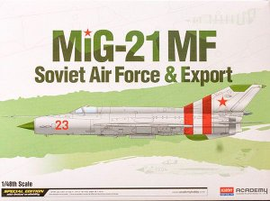 "Academy - MiG-21 MF ""Soviet Air Force & Export"" - 1/48"