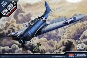 """Academy - SBD-2 """"Battle of Midway"""" - 1/48"""
