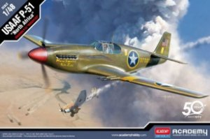 """Academy - USAAF P-51 Mustang """"North Africa"""" - 1/48"""