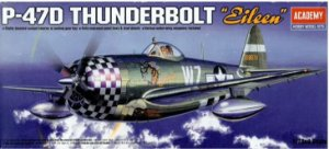 """Academy - P-47D Thunderbolt """"Eileen"""" - 1/72"""