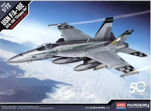 "Academy - USN F/A-18E ""VFA-195 ""Chippy Ho"" - 1/72"