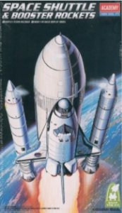 Academy - Space Shuttle with Booster Rocket - 1/288