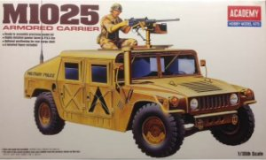 Academy - Humvee M1025 Armored Carrier - 1/35