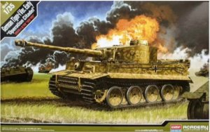 "Academy - German Tiger-I Ver. Early ""Operation Citadel"" - 1/35"