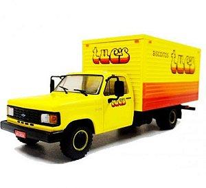 Ixo - Caminhão Chevrolet D-40 1985-1995 - Biscoitos Tuc's - 1/43