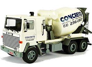 Ixo - Caminhão Scania LKS 140 Betoneira - Concreto - 1/43