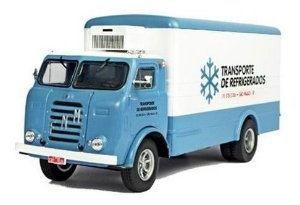 Ixo - Caminhão FNM D-11000 - Transporte de Refrigerados - 1/43