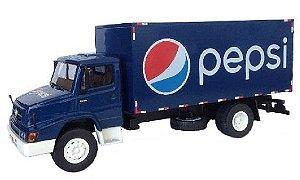 Ixo - Caminhão Mercedes-Benz L1614 (1990-1997) - Pepsi - 1/43