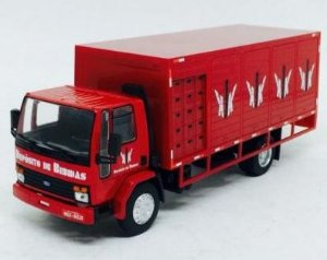 Ixo - Ford Cargo 1415 - Depósito de Bebidas KJK - 1/43