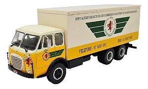 Ixo - Caminhão FNM Fiat 210 Baú - Transportes Luigi Dalla Casa - 1/43
