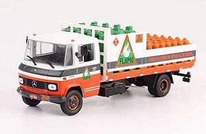 Ixo - Caminhão Mercedes-Benz - Flama Soluções em Gases - 1/43