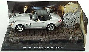 Coleção James Bond 007 Eaglemoss - BMW Z8 - 007: O Mundo Não é o Bastante - 1/43