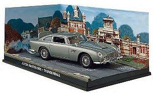 Coleção James Bond 007 Eaglemoss - Aston Martin DB5 - 007 Contra a Chantagem Atômica - 1/43
