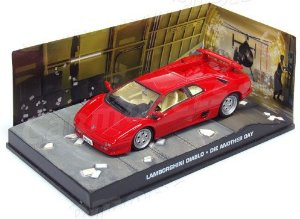 Coleção James Bond 007 Eaglemoss - Lamborghini Diablo - 007: Um Novo Dia Para Morrer - 1/43