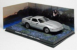 Coleção James Bond 007 Eaglemoss - Chevrolet Corvete - 007 Na Mira dos Assassinos - 1/43
