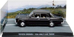 Coleção James Bond 007 Eaglemoss - Toyota Crown - Com 007 Só Se Vive Duas Vezes - 1/43