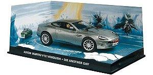 Coleção James Bond 007 Eaglemoss - Aston Martin V12 Vanquish - 007: Um Novo Dia Para Morrer - 1/43