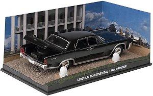 Coleção James Bond 007 Eaglemoss - Lincoln Continental - 007 Contra Goldfinger - 1/43