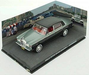 Coleção James Bond 007 Eaglemoss - Rolls Royce Silver Shadow I - 007 contra o Foguete da Morte - 1/43