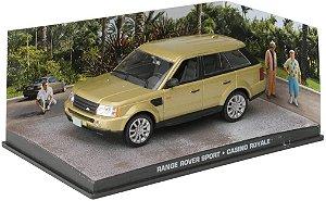Coleção James Bond 007 Eaglemoss - Range Rover Sport - 007: Cassino Royale - 1/43