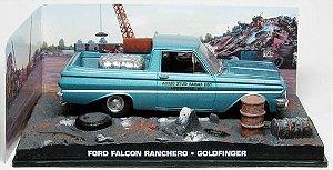 Coleção James Bond 007 Eaglemoss - Ford Falcon Ranchero - 007 Contra Goldfinger - 1/43
