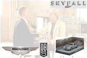 Coleção James Bond 007 Eaglemoss - Aston Martin DB5 - 007: Operação Skyfall - 1/43