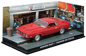 Coleção James Bond 007 Eaglemoss - Ford Mustang Mach I - 007: Os Diamantes São Eternos - 1/43