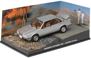 Coleção James Bond 007 Eaglemoss - Maserati Biturbo 425 - 007: Permissão Para Matar - 1/43