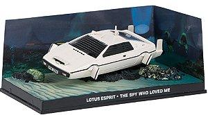 Coleção James Bond 007 Eaglemoss - Lotus Espirit Submarine - 007 e o Espião Que Me Amava - 1/43