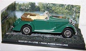Coleção James Bond 007 Eaglemoss - Bentley 4 1/4 Litre - Moscou Contra 007 - 1/43