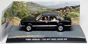Coleção James Bond 007 Eaglemoss - Ford Taunus - 007 e o Espião Que Me Amava - 1/43
