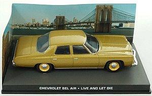 Coleção James Bond 007 Eaglemoss - Chevrolet Bel-Air - 007: Viva e Deixe Morrer - 1/43