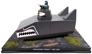 Coleção James Bond 007 Eaglemoss - Dragon Tank - 007 Contra o Satânico Dr. No - 1/43