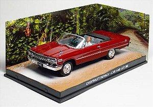 Coleção James Bond 007 Eaglemoss - Chevrolet Impala - 007: Viva e Deixe Morrer - 1/43