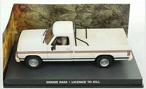 Coleção James Bond 007 Eaglemoss - Dodge Ram - 007: Permissão Para Matar - 1/43