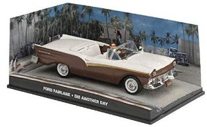 Coleção James Bond 007 Eaglemoss - Ford Fairlane - 007: Um Novo Dia Para Morrer - 1/43