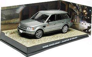 Coleção James Bond 007 Eaglemoss - Range Rover Sport - 007: Quantum of Solace - 1/43