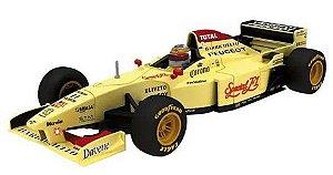 Coleção Lendas Brasileiras do Automobilismo Eaglemoss - Jordan 196 Peugeot 1996 - 1/43
