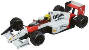 Coleção Lendas Brasileiras do Automobilismo Eaglemoss - McLaren MP4/5 Honda 1989 - 1/43