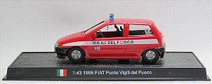 """Ixo - Fiat Punto """"Vigili del Fuoco"""" 1995 - 1/43"""