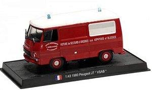 "Ixo - Caminhão Peugeot J7 ""VSAB"" - 1/43"